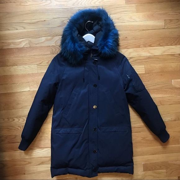 Kenzo Jackets & Blazers - Kenzo puffer down jacket parka / fur trim hood